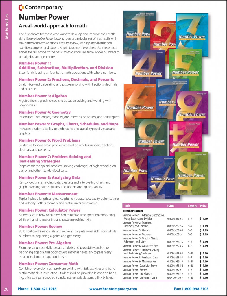 Catalog page sample